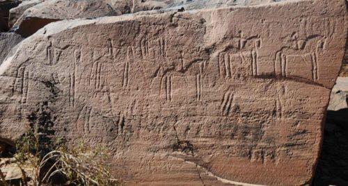 A la découverte des gravures rupestres entre Ouarzazate et Zagora