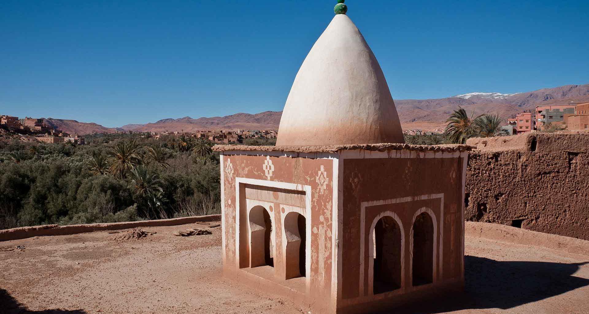 La mosquée Afanour près de Tinghir