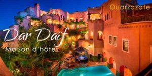 Maison d'hôtes Dar Daïf, Ouarzazate, Maroc