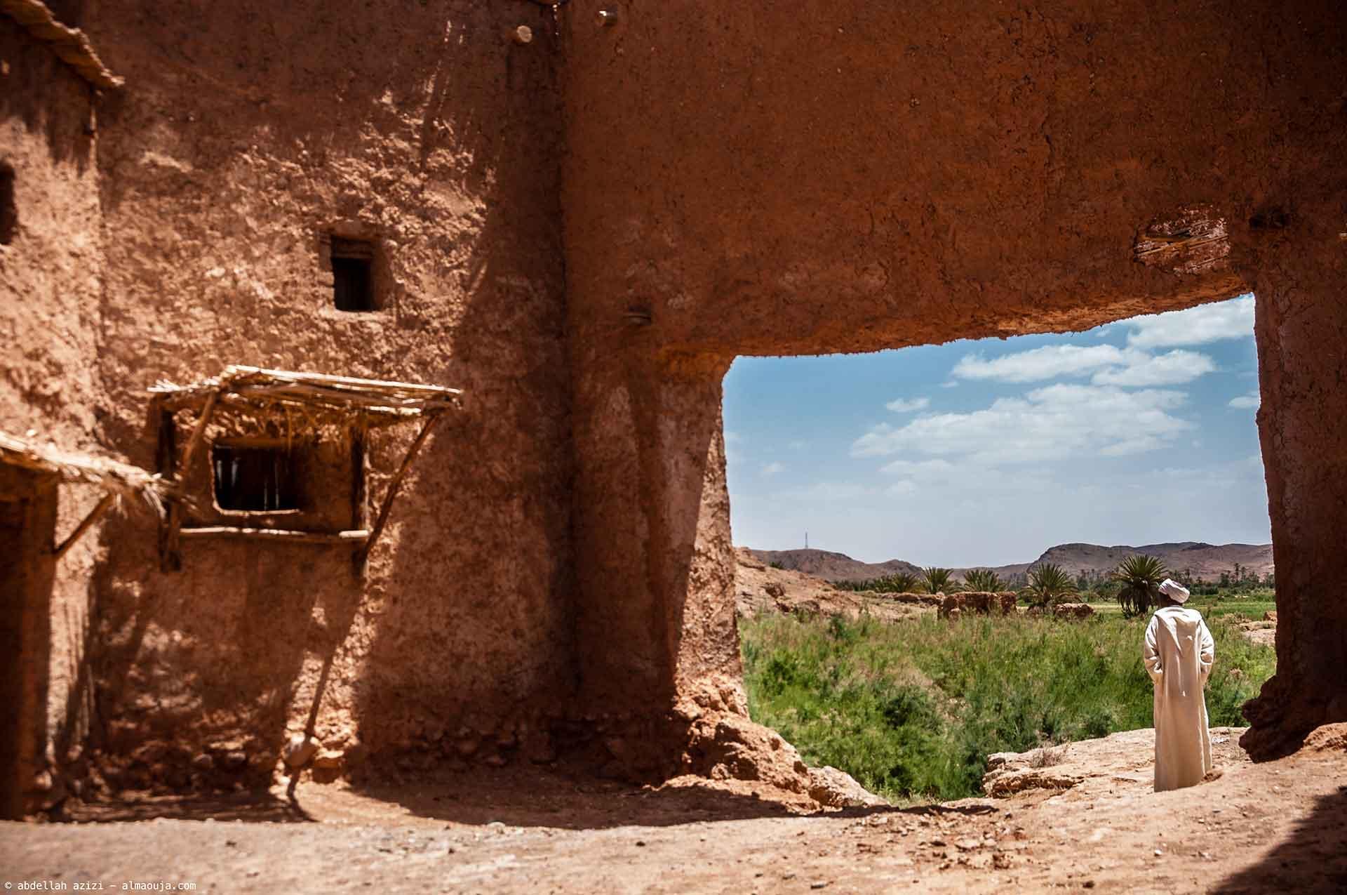 El Hara, le village englouti