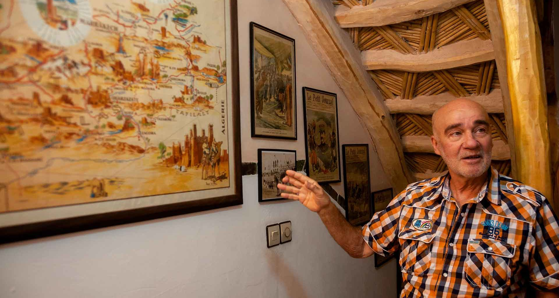 Jacques Gandini, Ouarzazate
