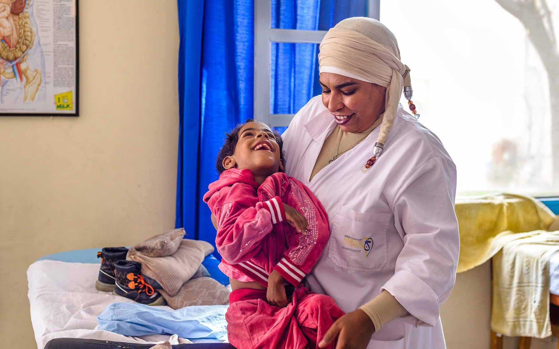Les enfants handicapés de Ouarzazate trouvent à l'association Horizon un accueil chaleureux