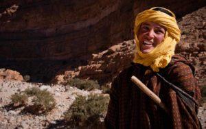 Des nomades rayonnant de bonté et de paix