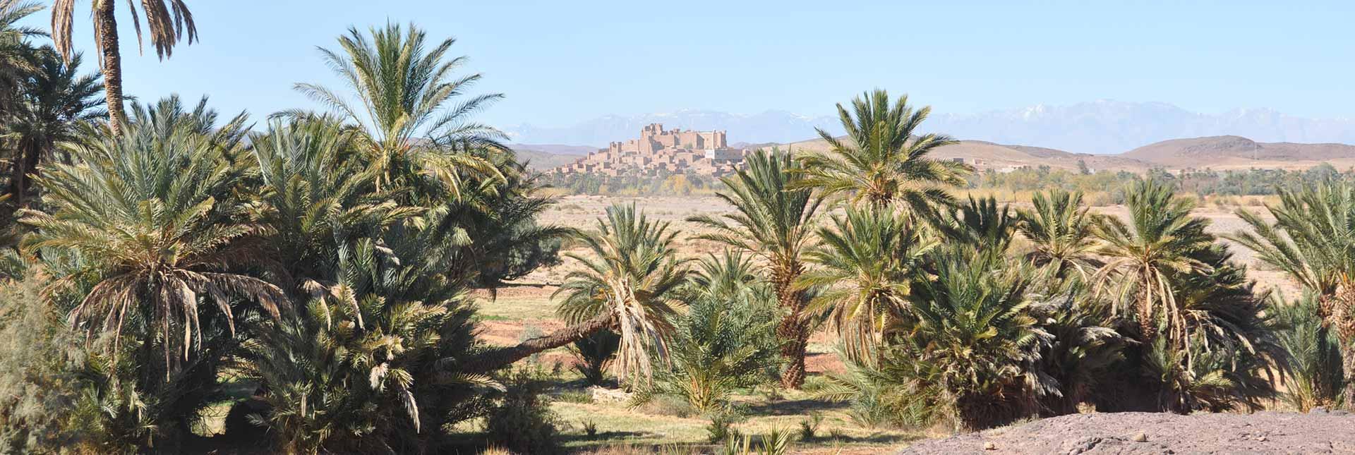 La casbah de Tifoultoute à la porte de Ouarzazate est l'ancienne demeure du caïd Glaoui