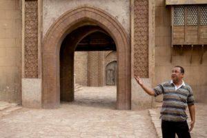 Hamid Herraf, producteur de cinéma, en tournage à Ouarzazate
