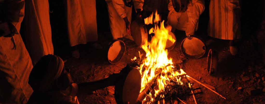 Ahwach, la danse du feu