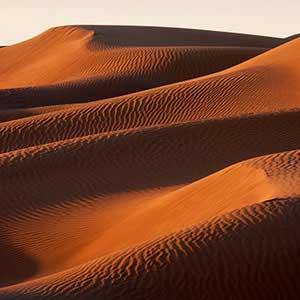 Les dunes de sable font de Zagora la porte du Sahara