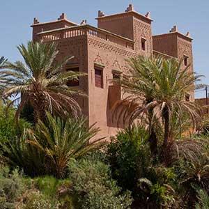 La casbah, architecture typique du sud est marocain