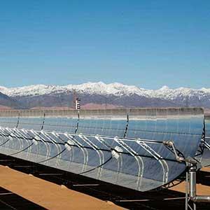 La centrale Noor Ouarzazate est l'emblème de l'ambition écologique du Maroc