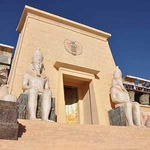 Les studios Atlas et ses décors de cinéma aux portes d'Ouarzazate