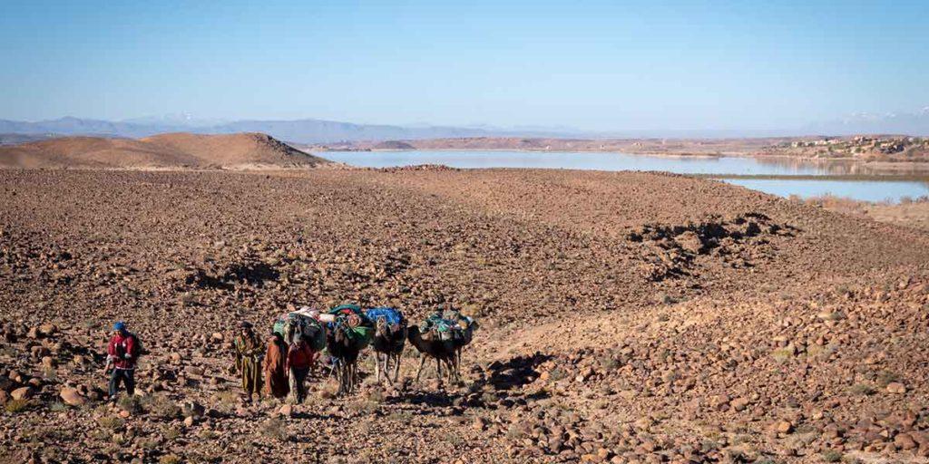 Le lac d'Ouarzazate