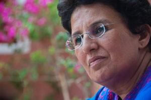 Fatima Agoujil, l'admiratrice enthousiaste de Ouarzazate