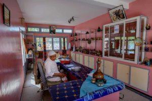 La galerie des productions artisanales de l'association Horizon à Ouarzazate