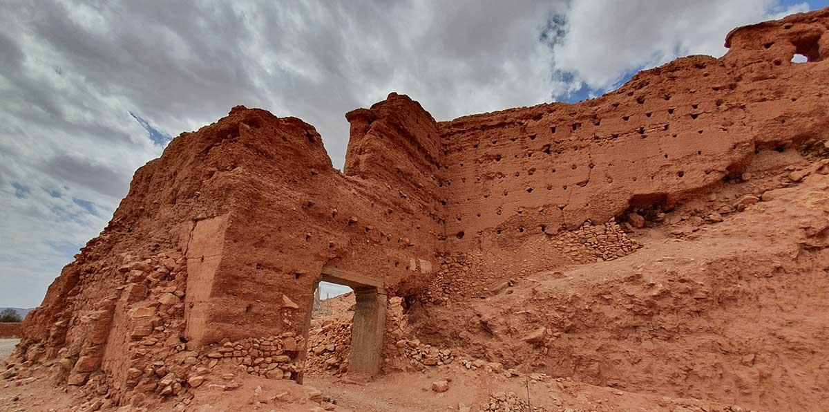 Les ruines de Tasgelt aujourd'hui