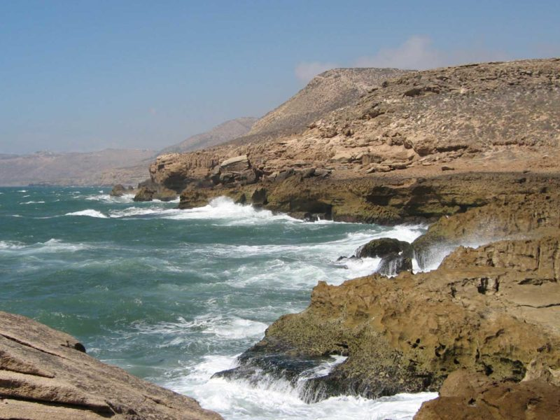 Océan Atlantique au Maroc