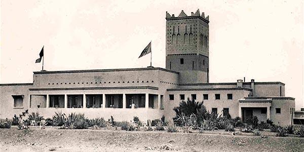 L'hôtel Kenzi Azghor de Ouarzazate autrefois
