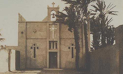 L'église de Ouarzazate construite pendant le Protectorat français en 1933