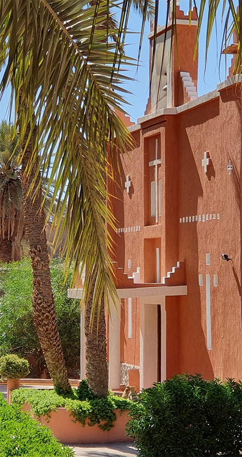 L'église de Ouarzazate aujourd'hui