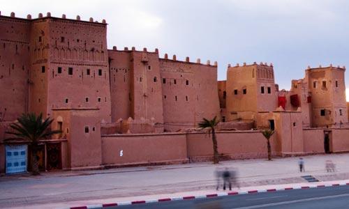 La casbah de Taourirte à Ouarzazate
