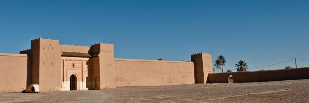 Le ksar d'elfida près de Rissani