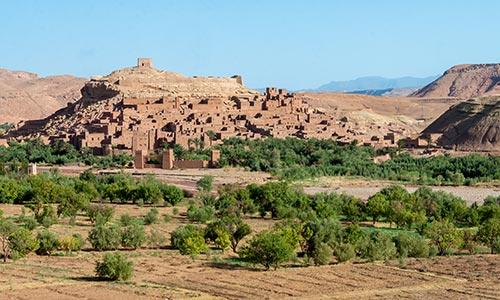 Le Ksar Aït Ben Haddou près d'Ouarzazate