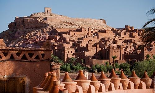 Un village fortifié vieux de plusieurs siècles