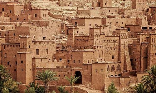Une architecture berbères typique