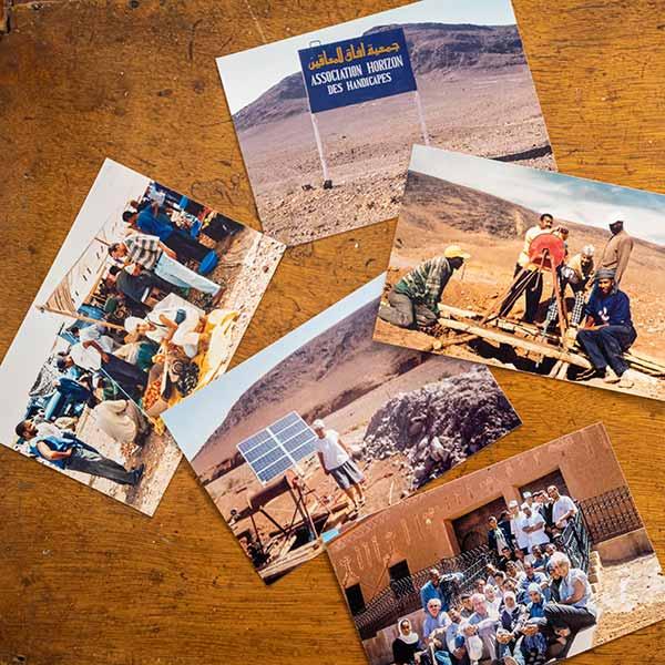 Les projets réalisés par Soeur Francesca à Ouarzazate