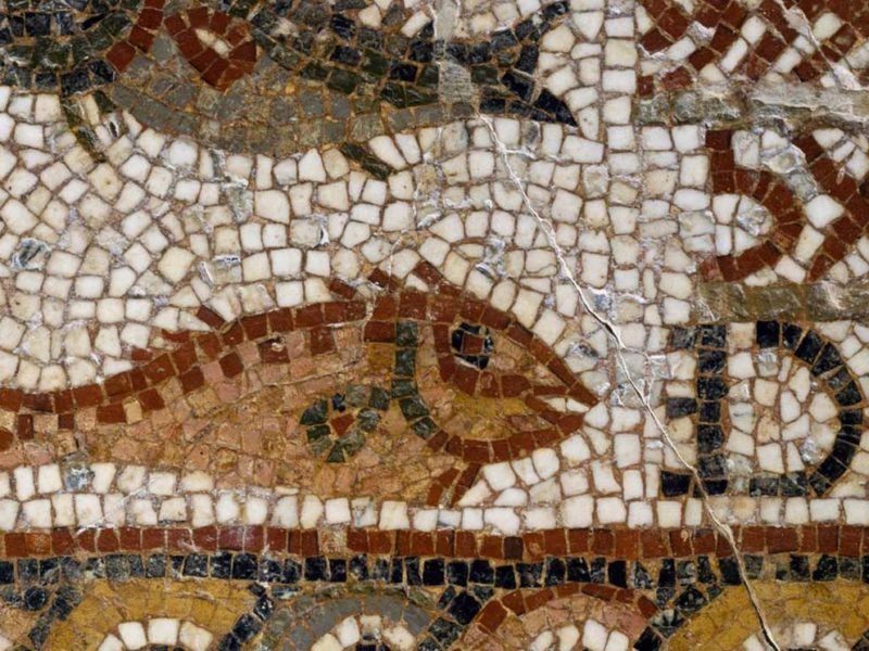 Poissons, symbole chrétien - Musée National Du Bardo. © Getty / DEA/G. DAGLI ORTI