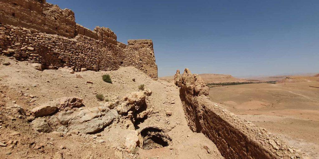Le puits de la chrétienne au ksar d'Aït Ben Haddou - Par Eric Anglade