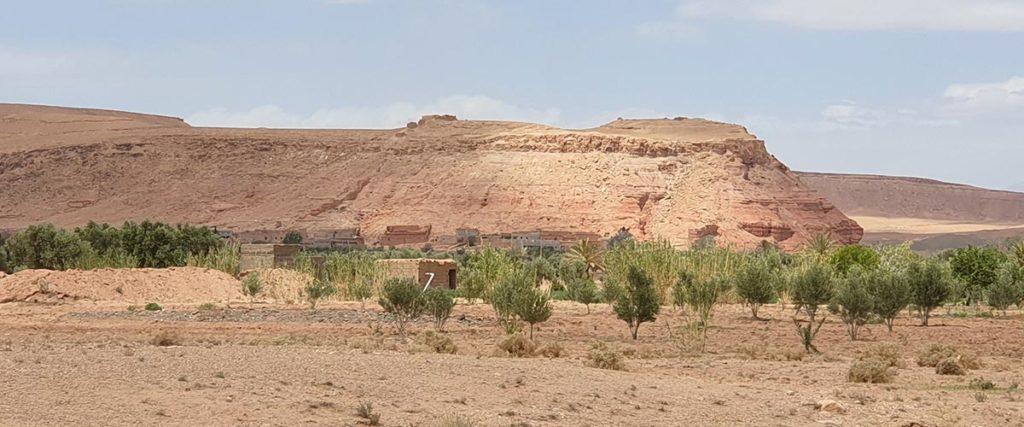 Les ruines de Tasgedlt aujourd'hui à Tadula près d'Ouarzazate - Par : Eric Anglade