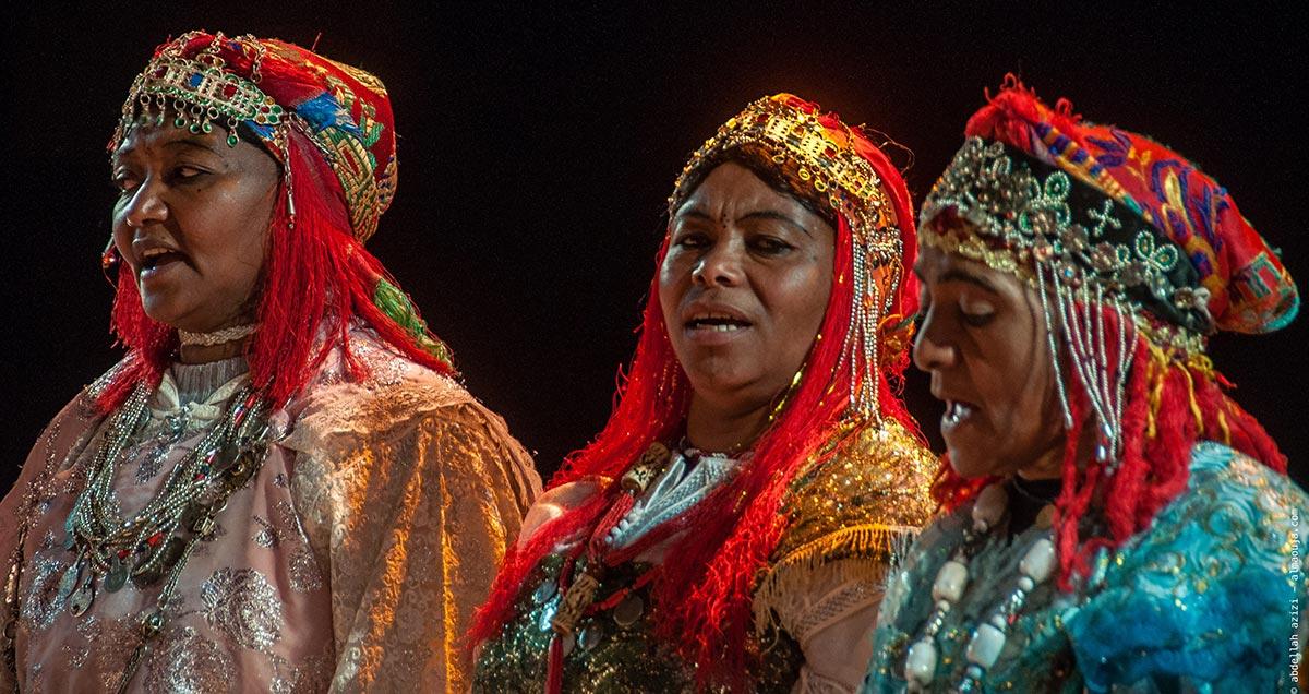 Les costumes féminins d'Ahwach