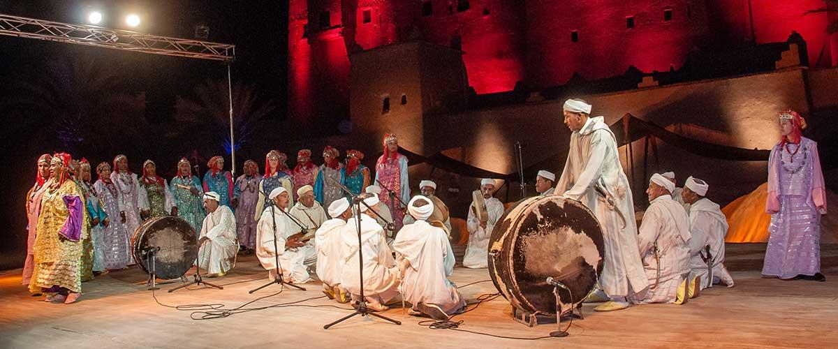 Troupe Ahwach au festival d'Ouarzazate - 2012