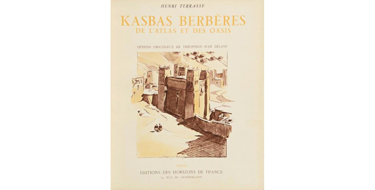 """Couverture livre """"Kasbas berbères"""" d'Henri Terrasse"""