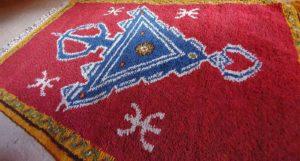 Tapis berbère de la région d'Ouarzazate