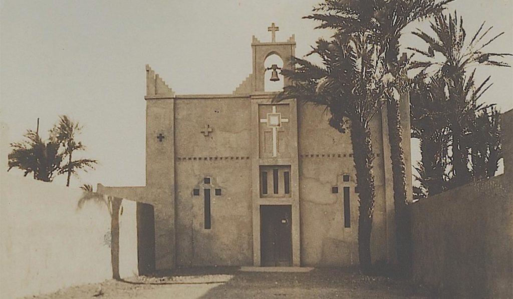 Eglise Ste Thérèse d'Ouarzazate autrefois