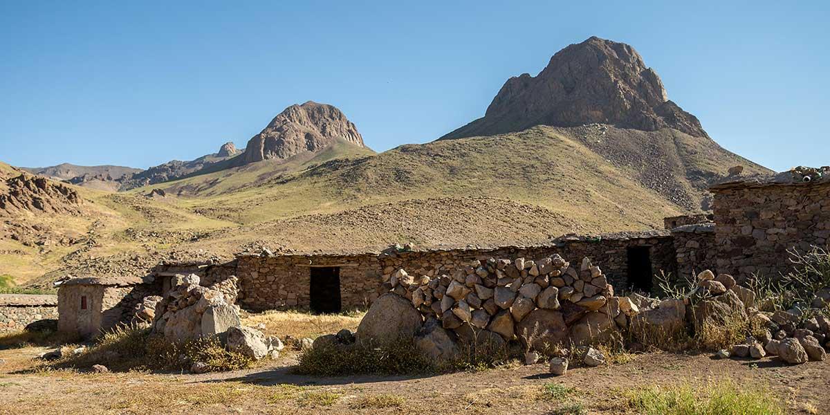 Le massif du Djbel Siroua