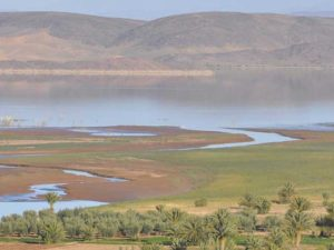 Le lac de Ouarzazate