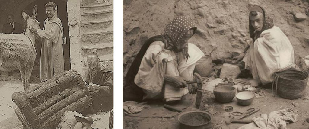 Jewish artisans in Morocco in the past
