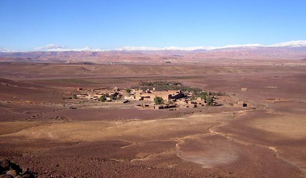 Le village de Zaouit Sidi Ahmed