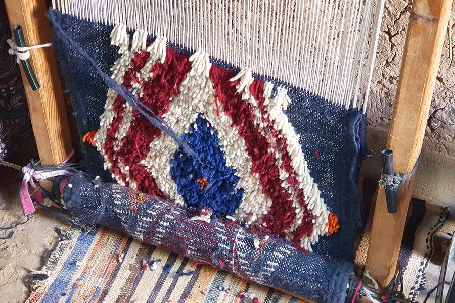 Les motifs des tapis berbères