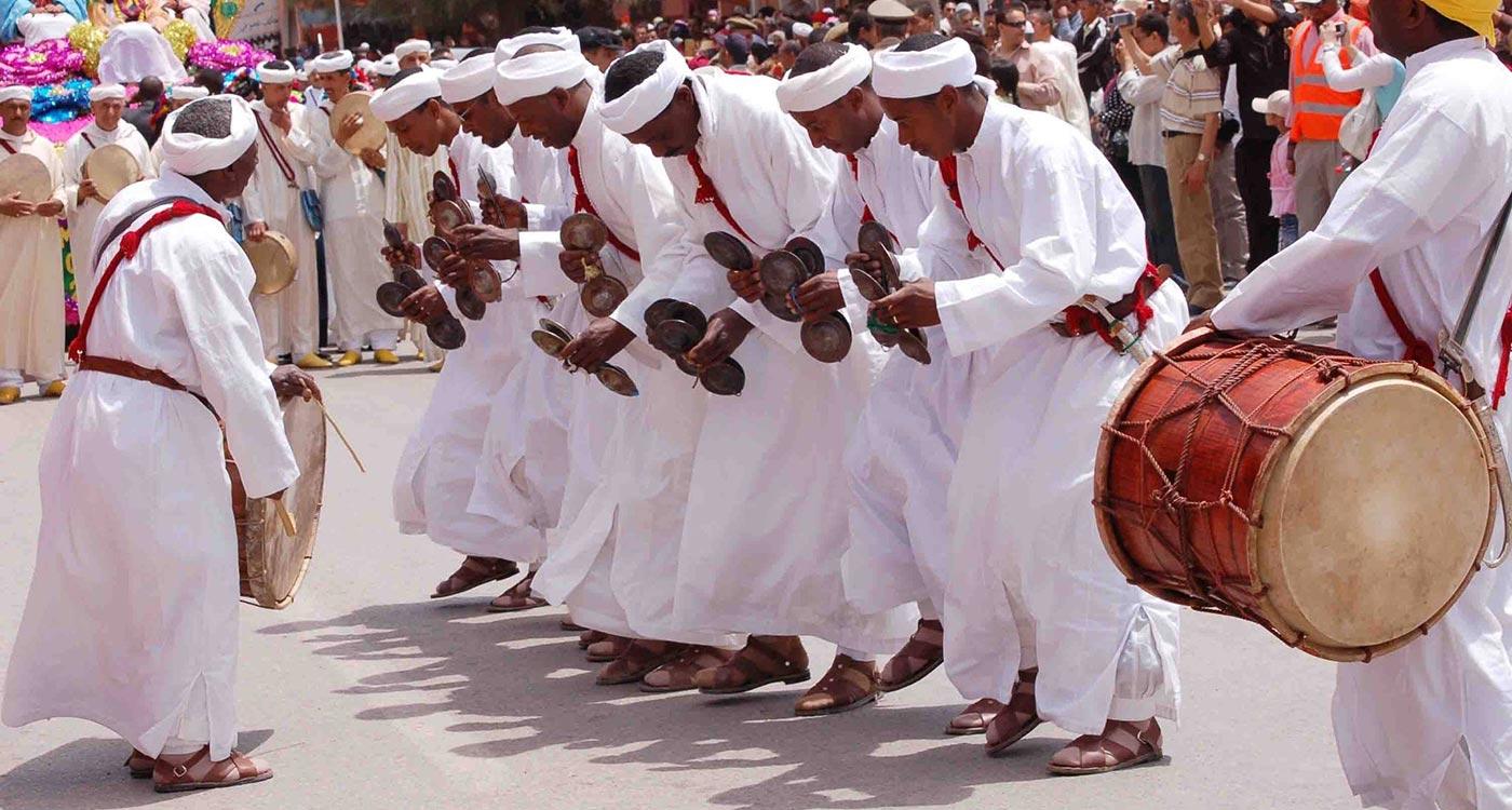 Gnawa adeptes de Lalla Mimouna