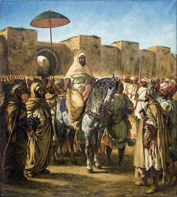 Sultan_du_Maroc_-_Eugene_Delacroix