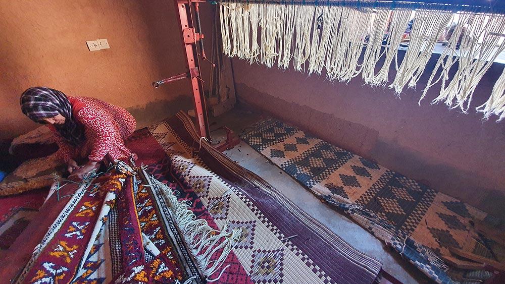 Tapis Glaoui de chez Dar Arbalou