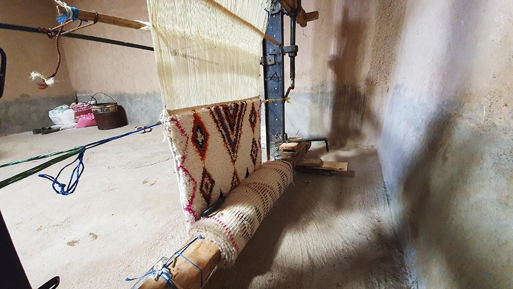 Le tapis berbère de style Azilal