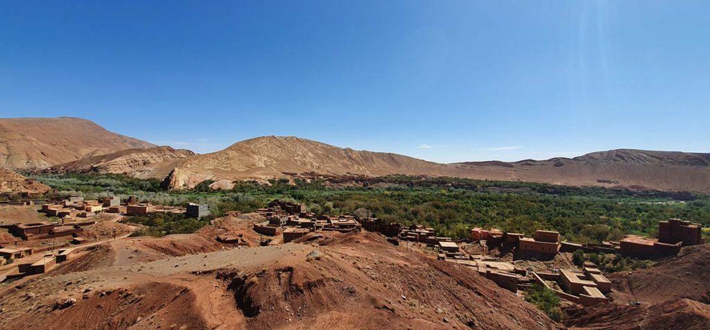 The village of Tazuda, Morocco