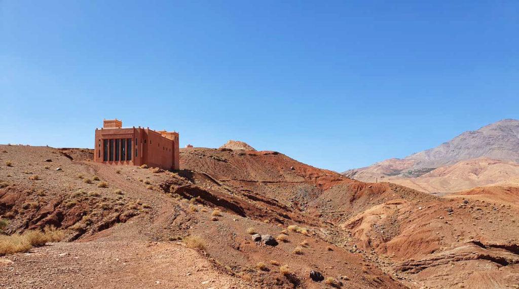 The building of the future Tazouda dinosaur museum