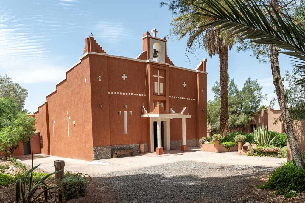 The Church of St. Therese - Ouarzazate today