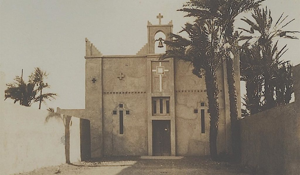 The Church of St. Therese - Ouarzazate before